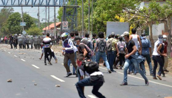 protestas, 19 abril, Nicaragua