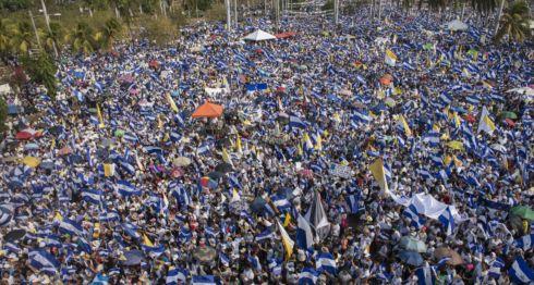 Marchas en Nicaragua
