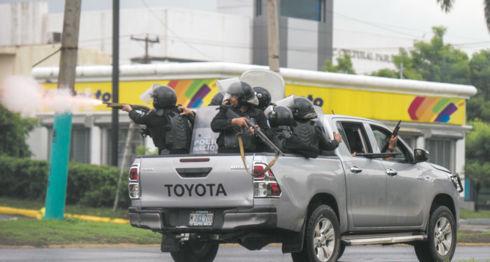 Policía Orteguista