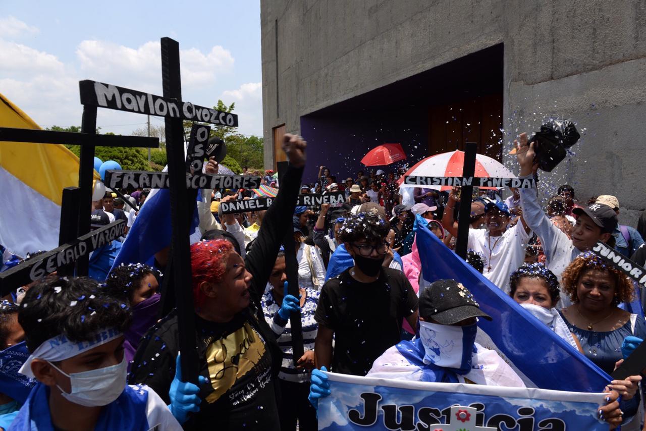 protestas Managua
