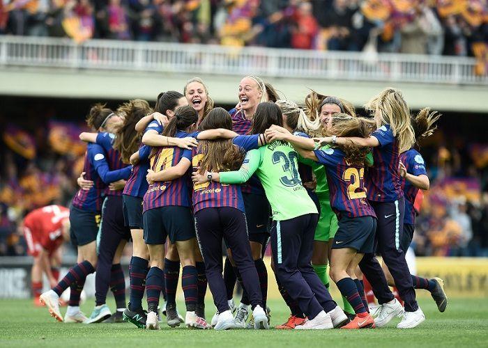 Barcelona Primer Equipo Español En Avanzar A Final De Champions