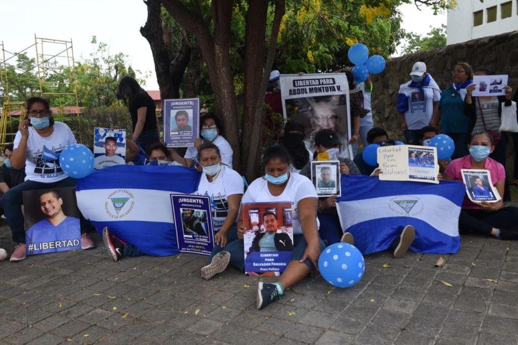 presos políticos, Nicaragua, represión