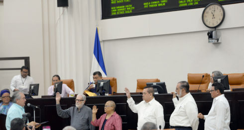 Comisión Porras, Asociación Madres de Abril, presos políticos, represión, masacre. Nicaragua