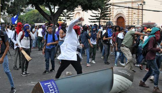 Honduras, protestas