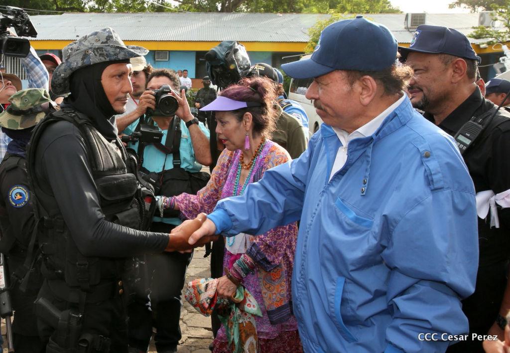 paramilitares, Asociación Consejo Defensores de la Patria, represión. Nicaragua, Daniel Ortega
