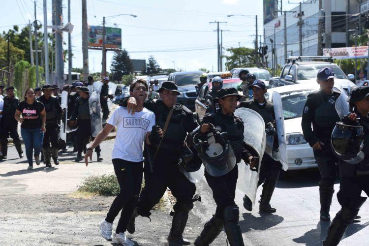 nicaragua, represión
