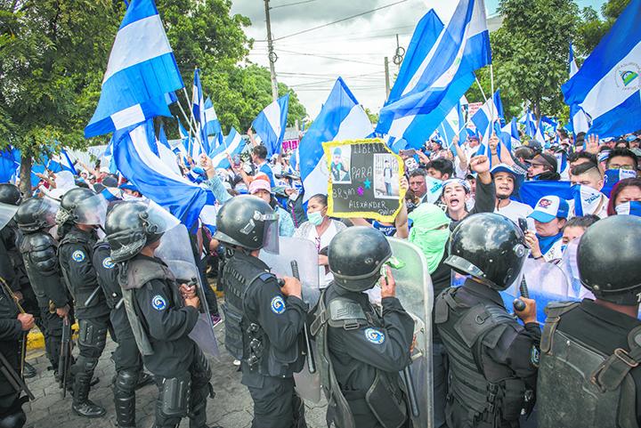 Comisiones de paz, Rosario Murillo, Policía Orteguista, represión, Nicaragua