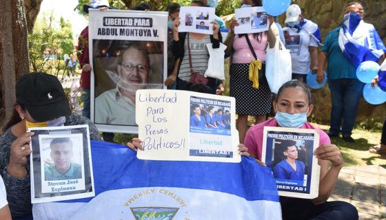 presos políticos. propuesta, represión, PLC, Nicaragua