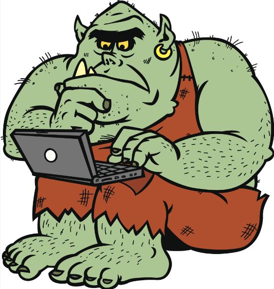 Se les llama troll en relación a los troles, que son criaturas del folclore escandinavo similares a los ogros y que se empeñan en hacer travesuras y provocar a los que se adentran en su territorio. LA PRENSA/Agencia