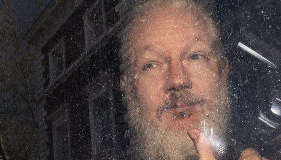 El fundador de Wikileaks vivió cerca de siete años en la embajada de Ecuador en condición de asilado político.BBC MUNDO/PA
