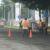 Régimen de Daniel Ortega saca a trabajadores de la Alcaldía de Managua a reparar las calles en el día del paro nacional