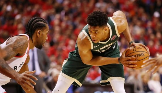 Giannis Antetokounmpo superó los 500 puntos en la elección al Mejor Equipo de la NBA. LA PRENSA/AFP