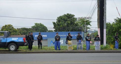 Policía Orteguista,, marcha, protestas, Nicaragua