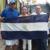 Manifestantes demandan la liberación de los presos políticos con banderazo nacional
