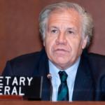 Luis Almagro rechaza la versión del golpe de Estado en Bolivia