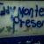 """""""¡Eddy Montes, presente!"""", """"¡Nicaragua libre!"""": Aparecen pintas en Somoto en contra de la dictadura"""