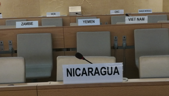 Nicaragu, derechos humanos, ONU