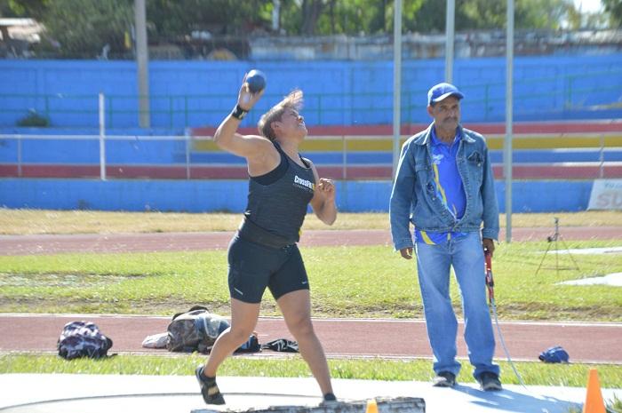 Dalila Rugama será una de las principales representantes de Nicaragua en los Juegos Panamericanos de Lima 2019. LA PRENSA/CORTESÍA/FNA