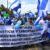 """""""Libertad, libertad, para todos los presos políticos libertad"""", gritan las letras de la canción """"Libertad"""" de Mario Rocha"""