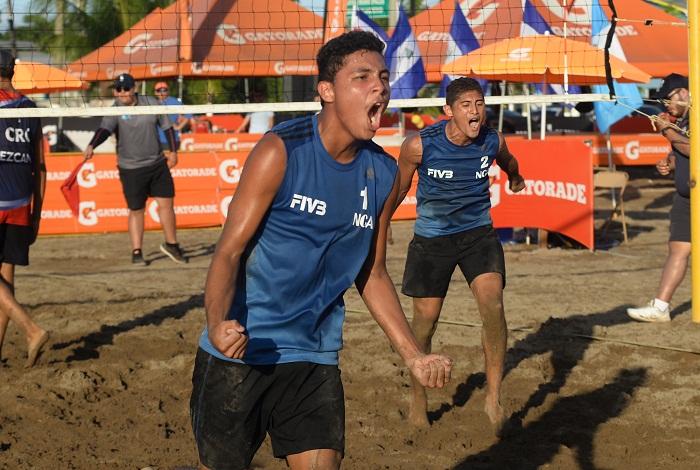 Dennis López con Jefferson Cascante serán los representantes masculinos en el Campeonato Mundial de Voleibol de Playa de Tailandia. LA PRENSA/CORTESÍA/FNVB