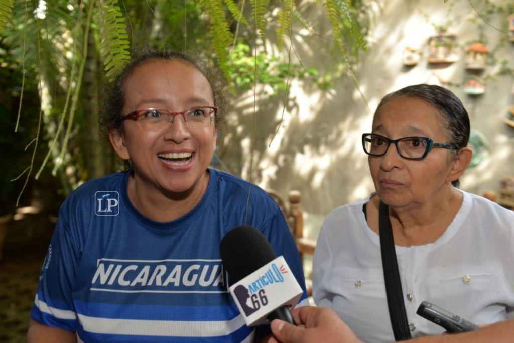 Miguel Mora y Lucía Pineda Ubau