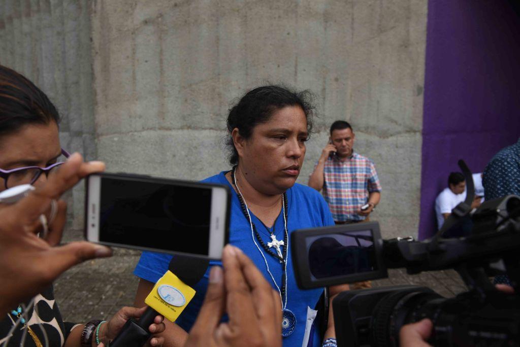 Olesia Muñoz, dijo que Daniel Ortega y Rosario Murillo, eran árboles podridos