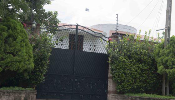 La .casa de Irlanda Jerez, ubicada en Villa Fontana, fue tomada y saqueada este martes por paramilitares, según denunció Daniel Esquivel, esposo de Irlanda Jerez LA PRENSA/Uriel Molina