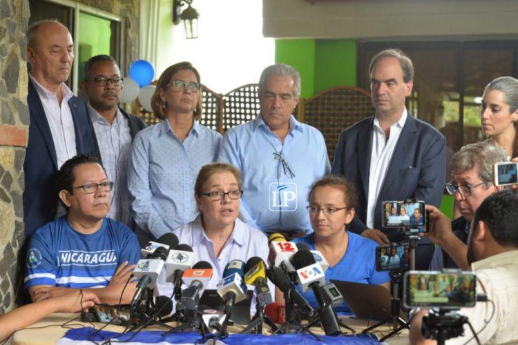 SIP, periodistas, Miguel Mora, Lucía Pineda, Nicaragua