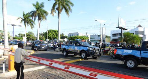 policía, protestas, Nicaragua