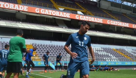 Juan Barrera es el capitán y jugador de referencia de la Selección de Futbol de Nicaragua. LA PRENSA/German García