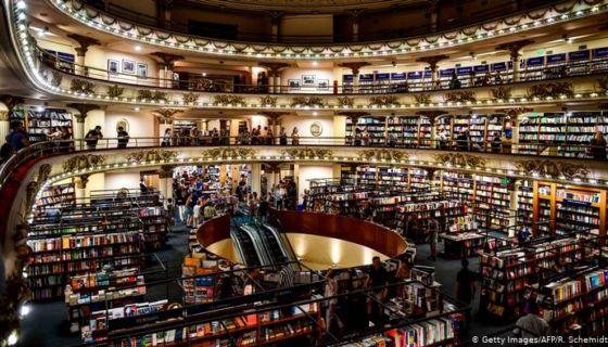 """La librería """"El Ateneo Grand Splendid"""", en Buenos Aires."""
