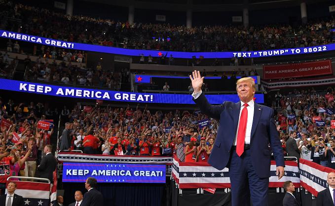 Donald Trump lanza oficialmente su campaña para las presidenciales ...