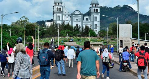 Hondura, protestas
