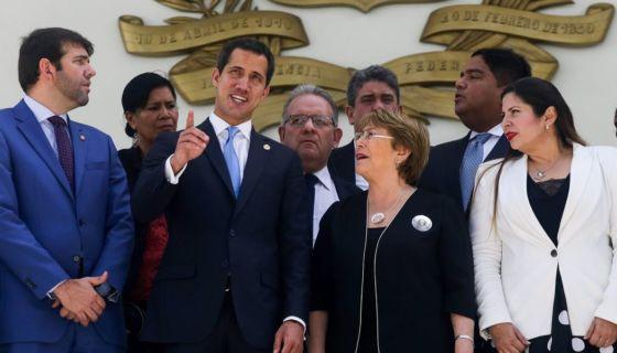 Bachelet, Guaidó, Venezuela