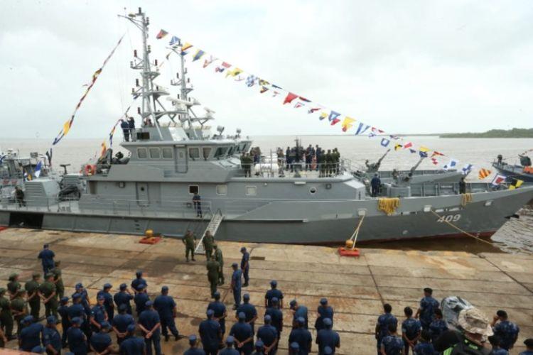 buques patrulla, corbetas, Ejército de Nicaragua