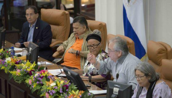 Ley contra el terrorismo, Nicaragua, protestas, abogados, contadores