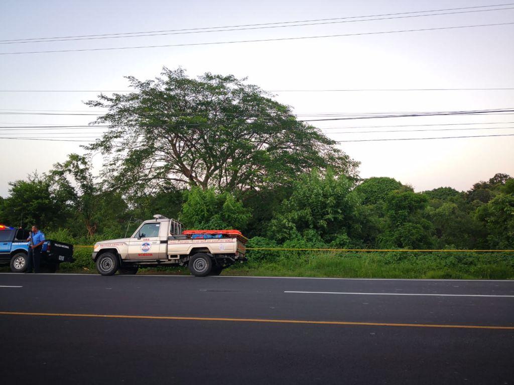 mujer, asesinada, Managua, El Cañón, carretera Sur