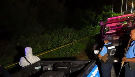 muejr asesinato, Managua, carretera Sur