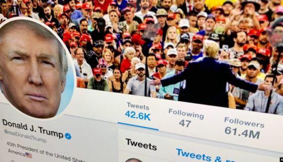 Donald Trump, Twitter, Corte de Apelaciones