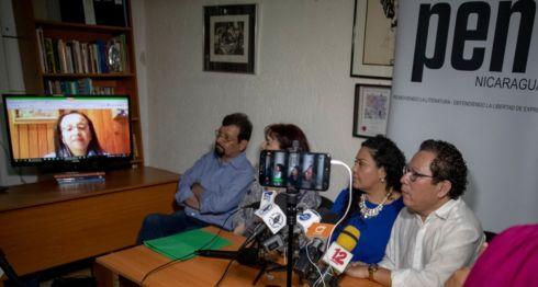 Periodistas destacaron la labor y valentía de la periodista Lucia Pineda Ubau