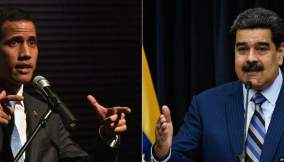 Guaidó, Maduro, Venezuela
