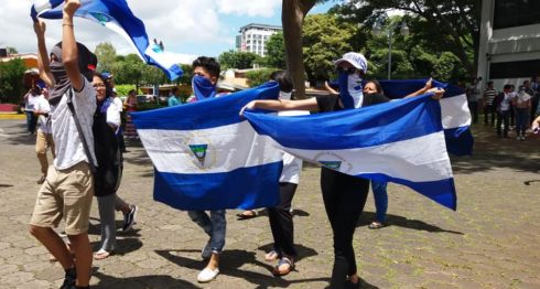 protestas, UCA