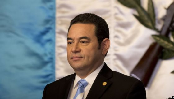 Jimmy Morales, Estados Unidos, Guatemala