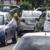 Policía Orteguista traslada el carro de la abogada Yonarqui Martínez hacia el Depósito Vehicular
