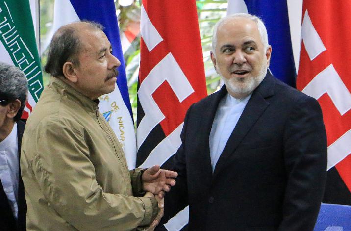 Daniel Ortega, Iran
