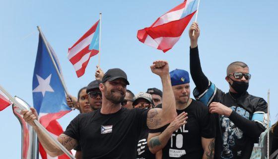 protestas, Puerto Rico