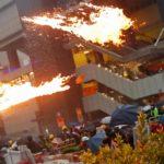 Tensión en Hong Kong: cañones de agua y gas lacrimógeno
