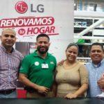 Sinsa y LG cierran promoción con la entrega de súper premio