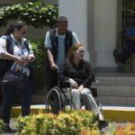 Medicina Legal realiza consulta intensiva a abogada Leyla Prado para comprobar si está enferma