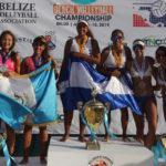 Nicas arrasaron en Campeonato Centroamericano de Voleibol Playa en Belice